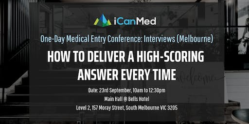 One-Day Medical Entry Conference: Free Interview Workshop (MELB)