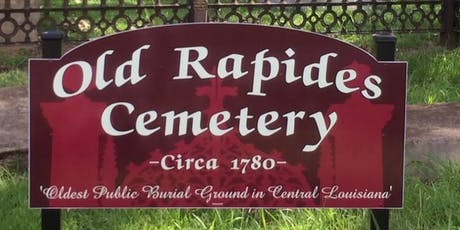 2019 Historic Rapides Cemetery Walking Tour tickets