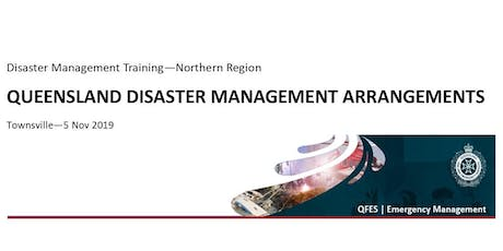 DM Training - Queensland Disaster Management Arrangements tickets