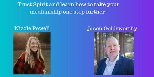 Sold Out - 3 Day Trance Mediumship & Healing Workshop