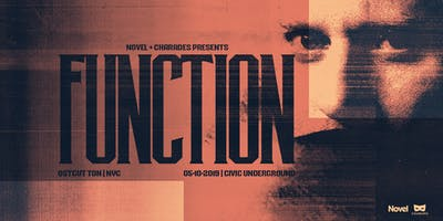 Novel & Charades presents Function