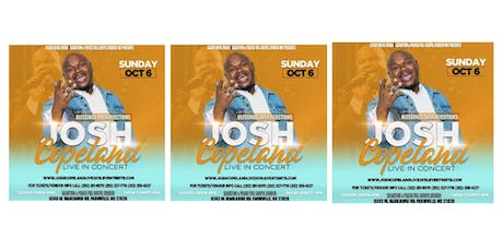 Blessings Over Rejections: Josh Copeland LIVE In concert tickets