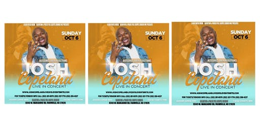 Blessings Over Rejections: Josh Copeland LIVE In concert