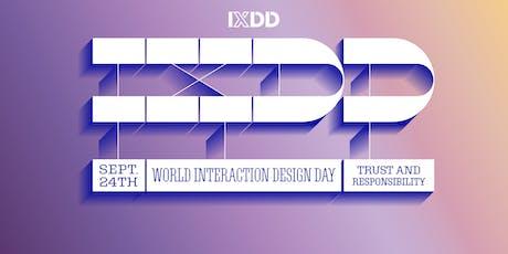 IxDA NYC presents World Interaction Design Day 2019: Trust & Responsibility tickets