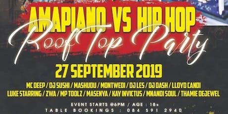 Amapiano vs Hip Hop tickets