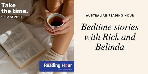 Australian Reading Hour - Bedtime Stories with Belinda King and Rick Marton @ Launceston Library