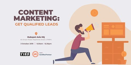 Content Marketing: Get Qualified Leads tickets
