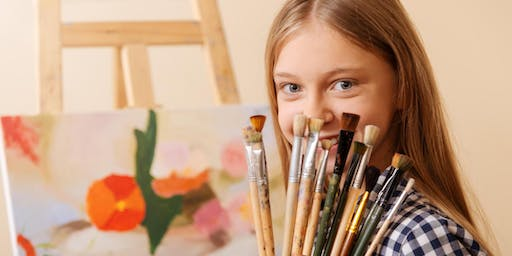 The Coffee Club Kids Canvas Paint Class - September