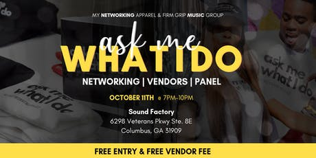 Ask Me What I Do (Tuskegee vs Morehouse) Networking Event tickets