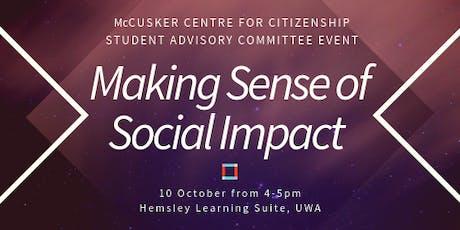 Making Sense of Social Impact tickets
