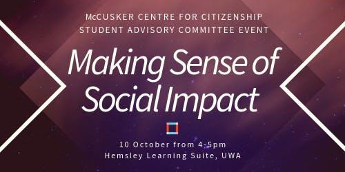 Making Sense of Social Impact