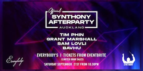 Synthony Auckland Official Afterparty tickets