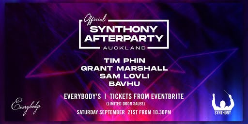 Synthony Auckland Official Afterparty