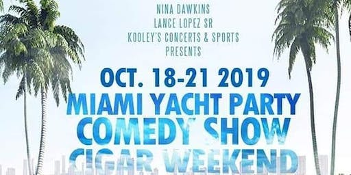 2nd Annual Yacht Comedy Cigar Weekend