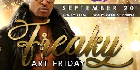 Freaky Art Friday tickets