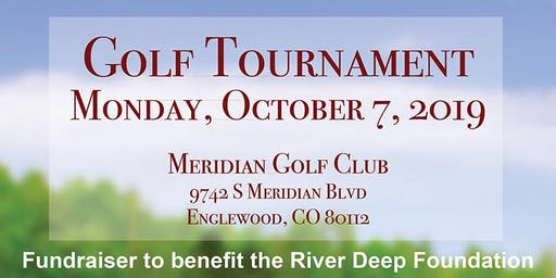 Charity Golf Tournament to benefit the River Deep Foundation