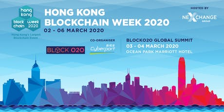 Hong Kong Blockchain Week 2020 entradas