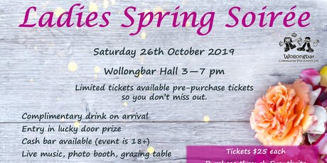 Ladies Spring Soiree tickets