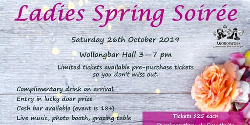 Ladies Spring Soiree