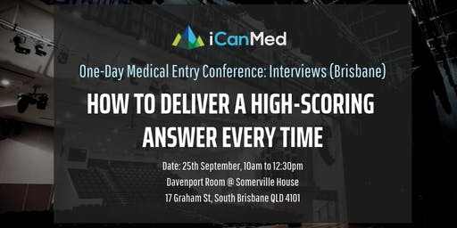 One-Day Medical Entry Conference: Free Interview Workshop (BRIS)