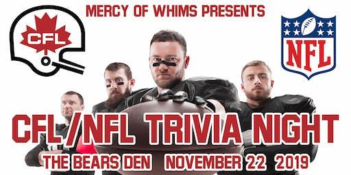 CFL & NFL Trivia Night