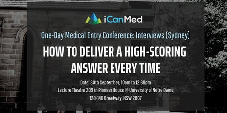One-Day Medical Entry Conference: Free Interview Workshop (SYD) tickets