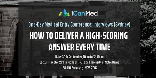 One-Day Medical Entry Conference: Free Interview Workshop (SYD)