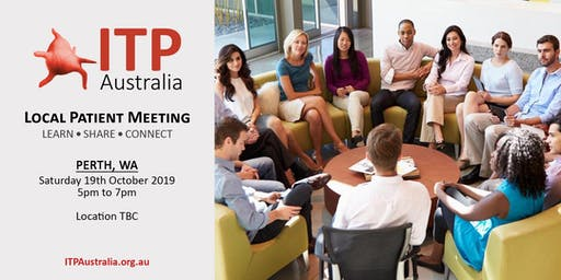 ITP Local Patient Meeting - Perth, WA