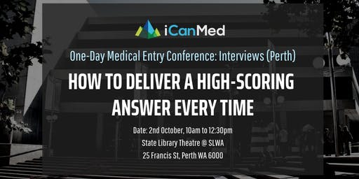 One-Day Medical Entry Conference: Free Interview Workshop (PERTH)