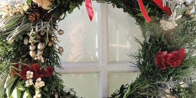 Symbolic Dried Christmas Wreath