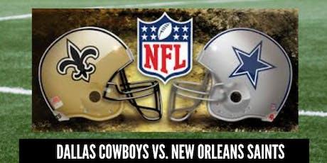 Cowboys Vs. Saints Black Diamond Style tickets