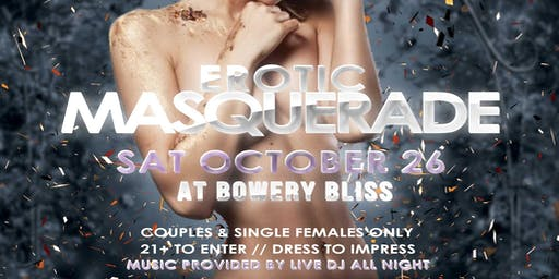 Bowery Bliss' Erotic Masquerade Party