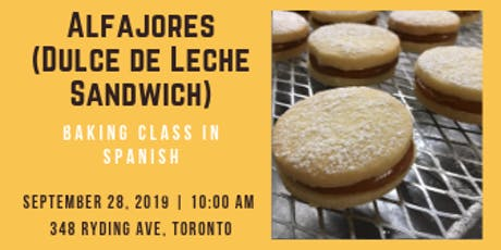 Spanish Baking Class - Alfajores (Dulce de Leche Sandwich) tickets