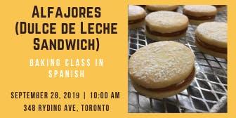 Spanish Baking Class - Alfajores (Dulce de Leche Sandwich)