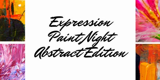 Expression Paint Night: Abstract Edition
