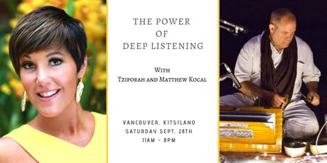 The Power of Deep Listening tickets