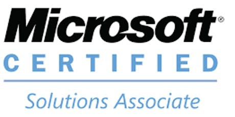 MCSA Certification Training tickets