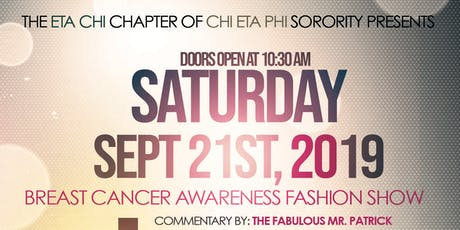 A Family Affair 20th Annual Breast Cancer Awareness Luncheon & Fashion Show tickets