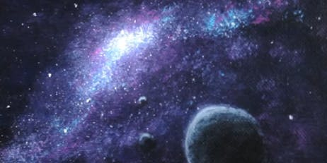 Galaxy Paint Night at the Coachman