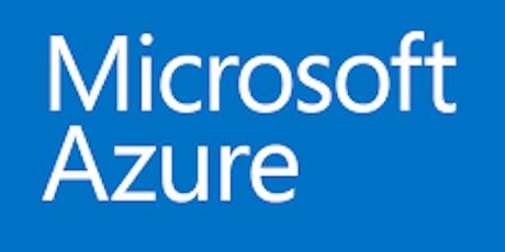 Microsoft Certified Azure Administrator Training tickets