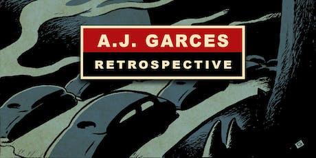 A.J. Garces Retrospective tickets