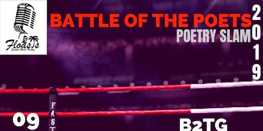 "Floasis presents ""Battle of the Poets"" Poetry Slam 2019"