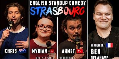 English Standup Comedy Night Strasbourg