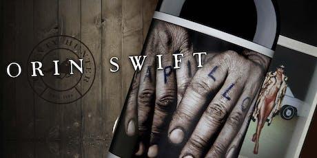Orin Swift Winery Spotlight Wine Tasting tickets