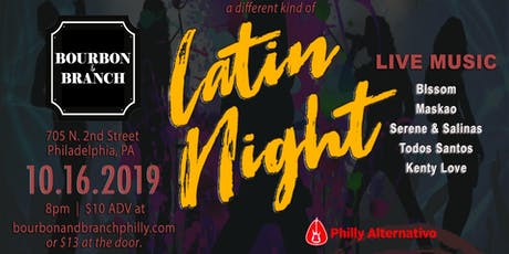 a different kind of Latin Night tickets
