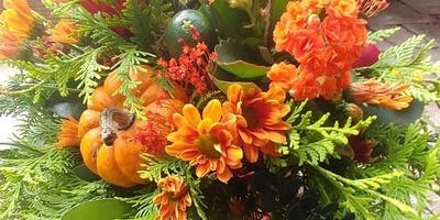 Thanksgiving Table Arrangement