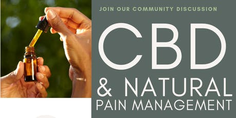 CBD and Natural Pain Management tickets