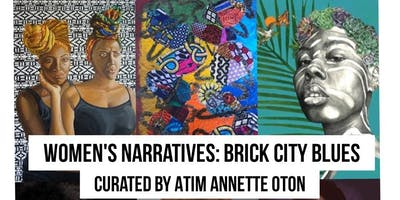 Women's Narratives: Brick City Blues by Atim A Oton at Newark Arts Festival