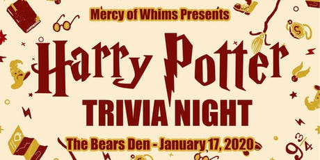 Harry Potter Trivia Night tickets