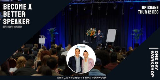 Become A Better Speaker With Harry Singha